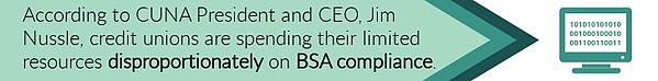 Credit union BSA Compliance