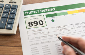 credit score for credit union member
