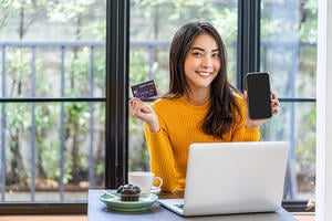 using mobile wallet