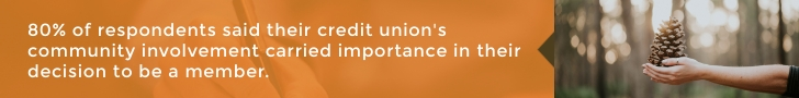 credits unions are involved in the community